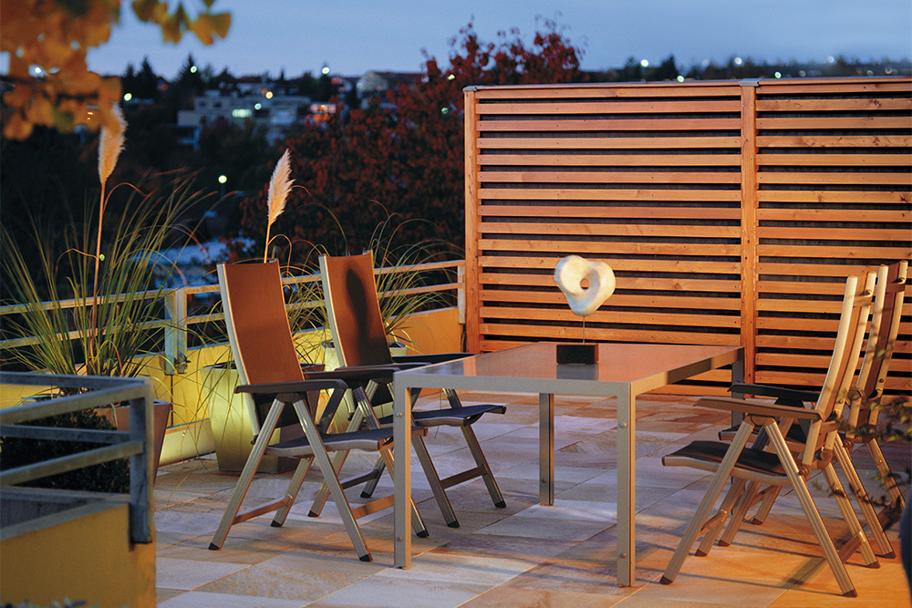 sichtschutz wyss z une. Black Bedroom Furniture Sets. Home Design Ideas