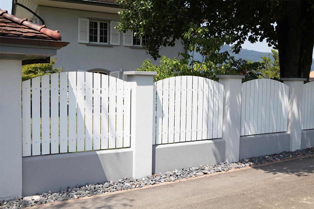 Sichtschutz – Wyss Zäune