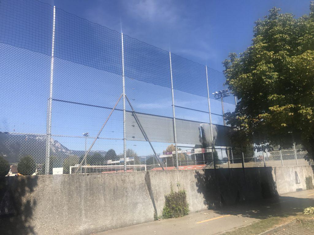 Ballfangerhohung Fc Solothurn Wyss Zaune
